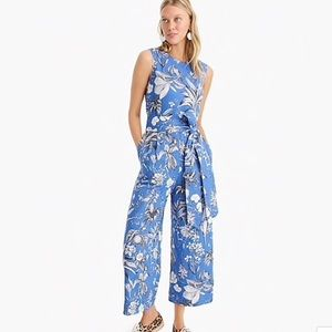 J crew wrap back jumpsuit Ratti tropical toile 0